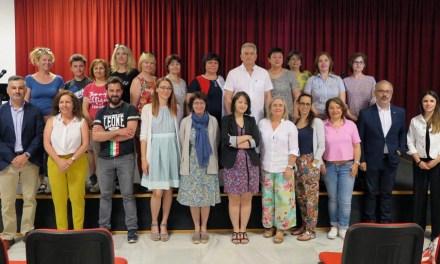Profesores de cinco países europeos visitan Caravaca para clausurar el proyecto 'Erasmus +' coordinado por el colegio Cervantes
