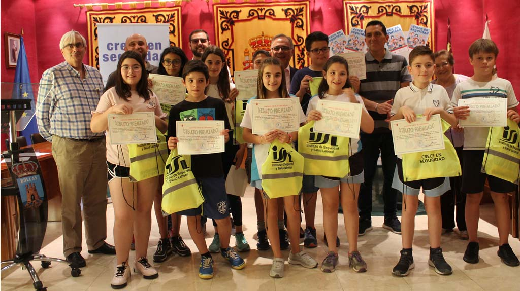 Entregados en Bullas los premios de la campaña 'Crece en Seguridad'