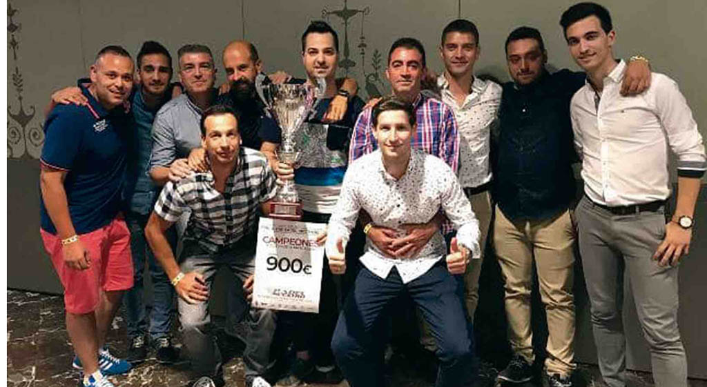 El CD D-PORTIS, campeón de la Liga Regional de pádel