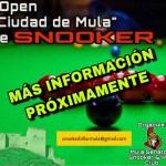 Mula celebrará su primer torneo de snooker en septiembre