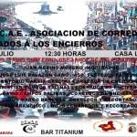 La Asociación de Corredores y Aficionados a los Encierros de Calasparra organiza el 26 de julio una charla coloquio