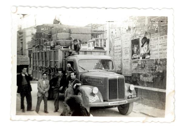 Camión de transportes Vila