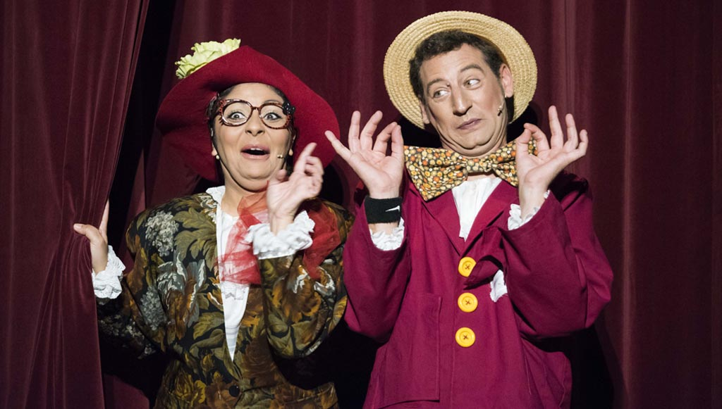 La Caperucita más alocada llega a Calasparra de la mano de La Murga Teatro