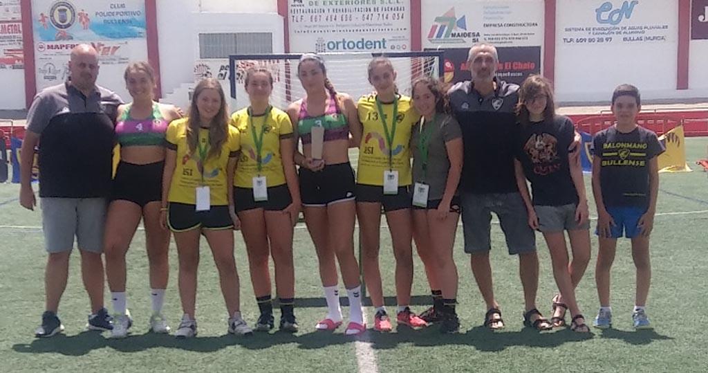 Fiesta deportiva en la Bullas HandBall Cup 2019