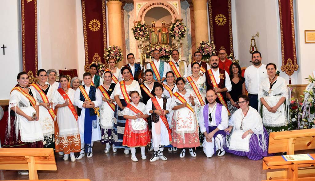 XV Ofrenda Floral Huertana a San Abdón y San Senén, patronos de Calasparra