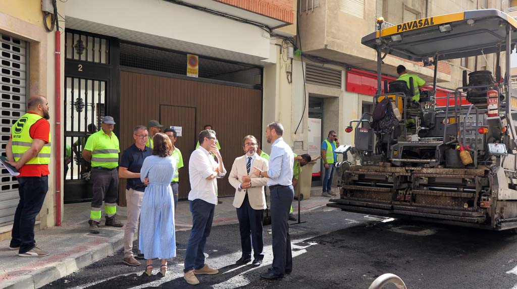 La Comunidad Autónoma financia con cerca de 500.000 euros las actuaciones del Plan de Obras y Servicios en el casco urbano y pedanías de Caravaca