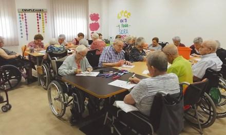 Un activo programa de dinamización con los mayores del Club de Campos