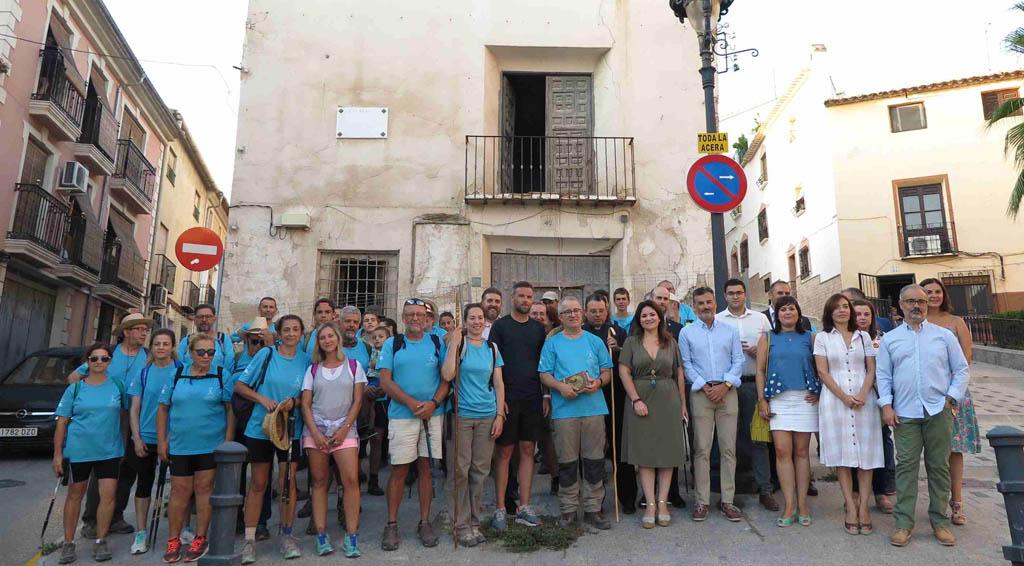 Cerca de 40 andariegos completan el Camino de San Juan de la Cruz dentro de la peregrinación de los Carmelitas Descalzos
