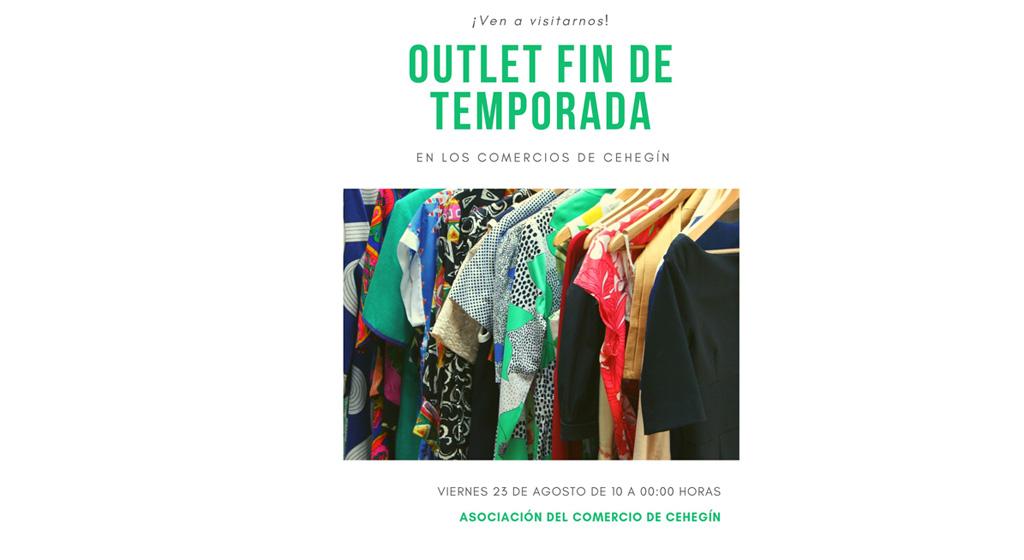 'Outlet Fin de Temporada' de la Asociación de Comercio de Cehegín