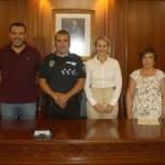 Toma de posesión como funcionario de carrera de cabo de la Policía Local de Cehegín