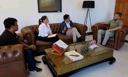 El Alcalde de Caravaca mantiene una reunión con el cónsul de Educador para estrechar lazos entre ambas instituciones