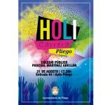 El 31 de agosto se realizará en Pliego la colorida carrera Holi