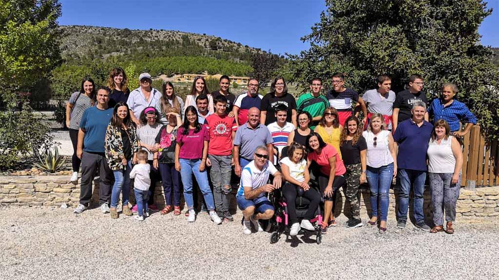 Adaptaocio ha celebrado este fin de semana una jornada de convivencia en Inazares