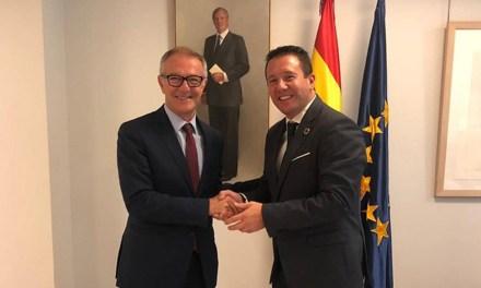 Reunión con el Ministro de Cultura para abordar la situación del Castillo de Mula