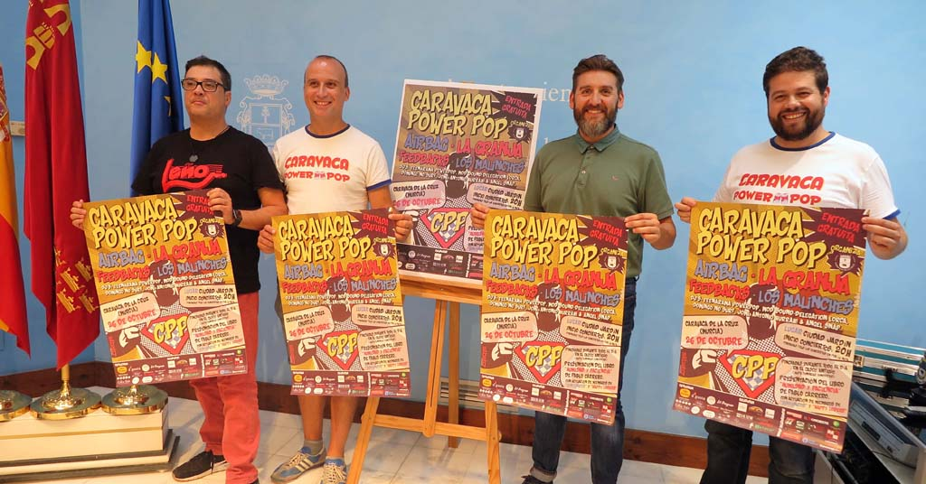 Bandas de culto en la nueva edición de Caravaca Power Pop