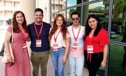 Ana Caballero es elegida  Coordinadora de Acciones Feministas en el XVII  Congreso de Juventudes Socialistas de la Región de Murcia