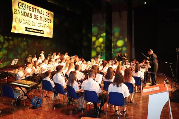 El Festival de Bandas de Música pone el prólogo a las Fiestas Patronales de Cehegín