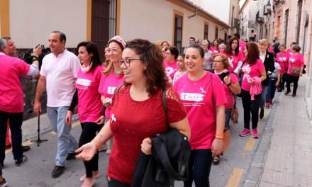 Marea Rosa en Cehegín en el Día Mundial del Cáncer de Mama
