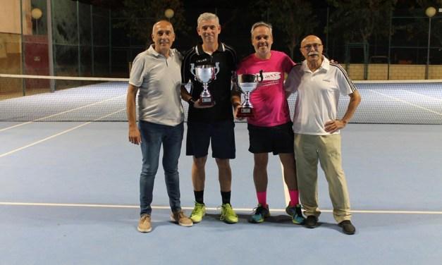 Se disputa la final del Torneo de Tenis de las XXXVI Jornadas Deportivas Septiembre 2019