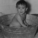 El baño de los domingos