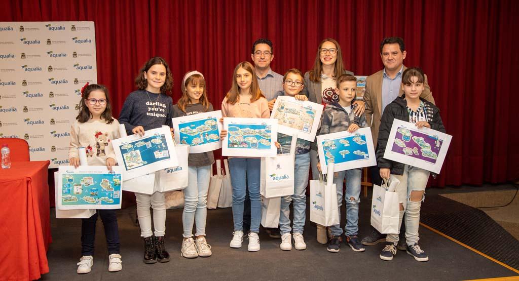 Ocho escolares caravaqueños, premiados en el concurso del ´Día Mundial de Agua'