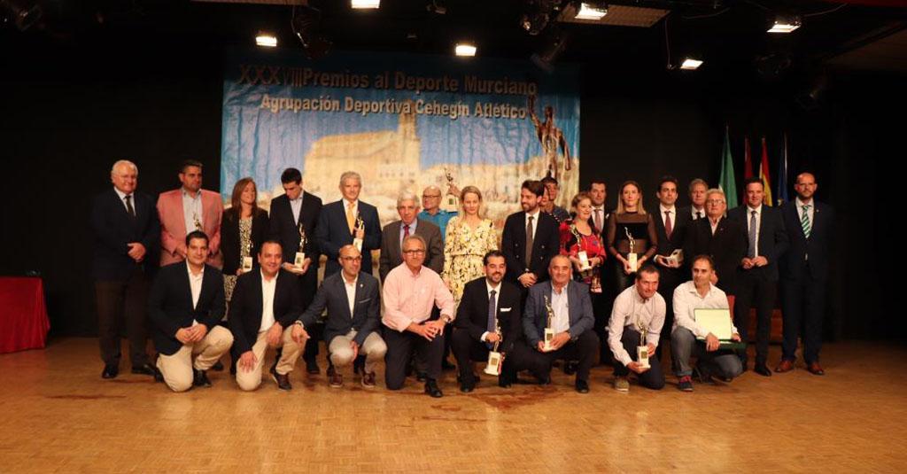 El Cehegín Atlético entrega sus premios anuales al deporte murciano