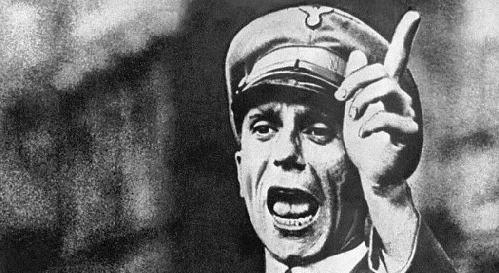 La siniestra propaganda goebbeliana (primera parte)