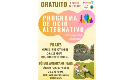 La Concejalía de Juventud de Cehegín oferta para este fin de semana dos nuevos talleres en su Programa de Ocio Alternativo