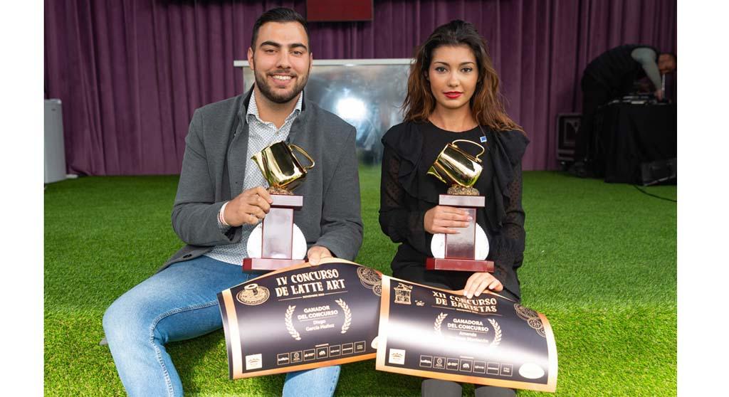 Amanda Martínez Mantecón se proclama ganadora del XII Concurso de Baristas de Salzillo tea and coffee