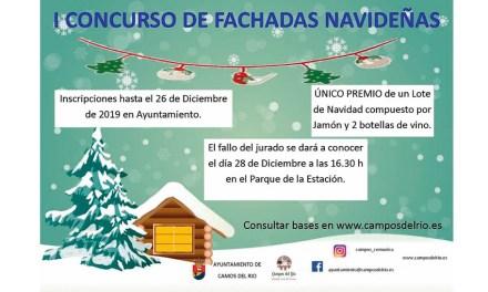 Cultura y Festejos de Campos del Río convoca el primer Concurso de Fachadas Navideñas
