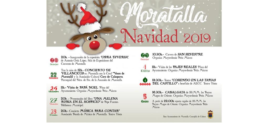 Moratalla celebra la Navidad con diferentes actividades programadas para todas las edades