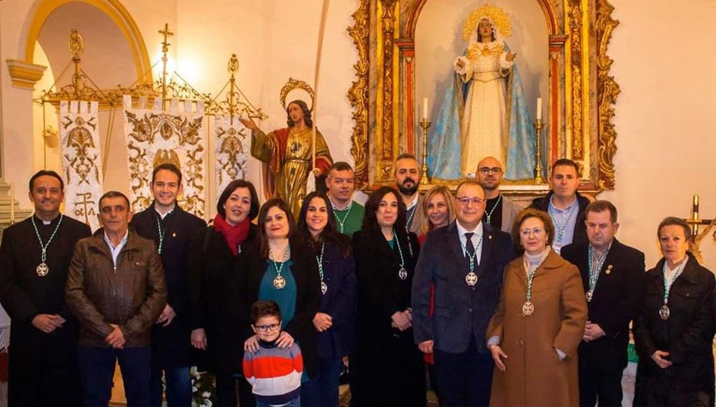 Nueva directiva de la Real Cofradía de San Juan Evangelista y la Dolorosa de Calasparra