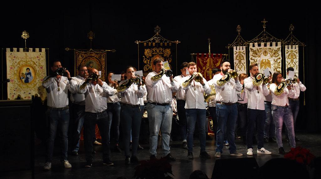 Celebrado el IV Festival Benéfico «El Kilo» Bandas de cornetas y tambores