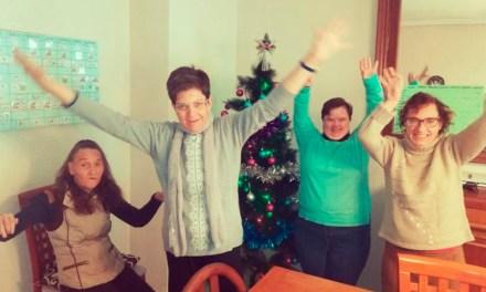 La primera Navidad en comunidad