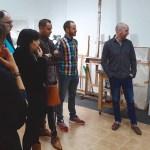 El artista muleño Nono García abre su estudio de pintura esta Navidad