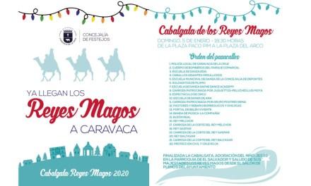 El Ayuntamiento pondrá el broche final a la programación 'Es Navidad en Caravaca' con la tradicional cabalgata de los Reyes Magos, que llega acompañada de novedades
