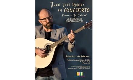 Juan José Robles presenta su álbum 'In-quietud' este sábado en Bullas