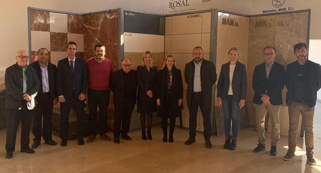 La Comunidad invierte 70.000 euros para proyectos altamente innovadores del sector del mármol y la piedra