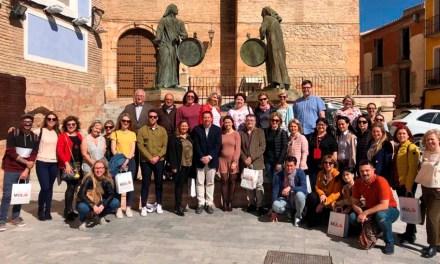 El Alcalde de Mula y la Concejala de Presidencia reciben a los Centros Educativos que participan en Erasmus+Ka2