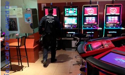 La Policía Local de Caravaca realiza una campaña de inspección y control en salas de juego y apuestas