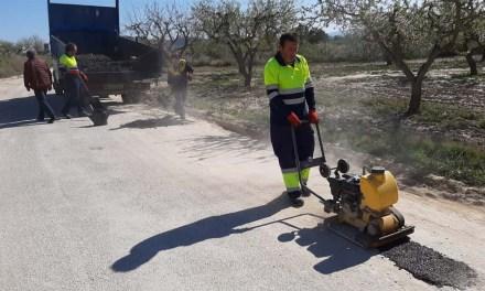 El Ayuntamiento bacheará caminos rurales del término municipal de Bullas
