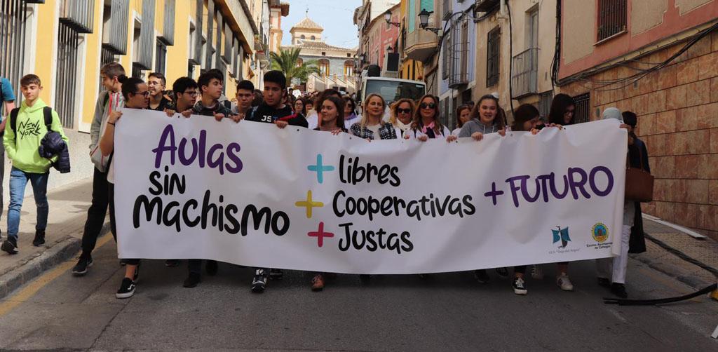Cehegín reivindica la igualdad en la lectura del manifiesto por el Día Internacional de la Mujer