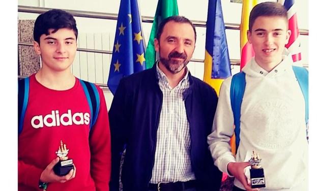 Juan Carlos del Olmo Ruiz, ganador del Torneo de Ajedrez del IES Emilio Pérez Piñero
