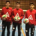 Cuatro jugadores del Club Voleibol Caravaca, convocados con la Selección Murciana