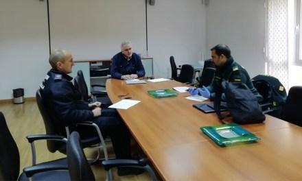 Reunión de la Mesa de Coordinación Local Policial de Moratalla para profundizar en el control del cumplimiento del Estado de Alarma