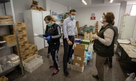 El Ayuntamiento de Caravaca destinará este año una ayuda de 21.000 euros a Cáritas, que durante el estado de alarma ha visto incrementado el número de usuarios hasta llegar a 300