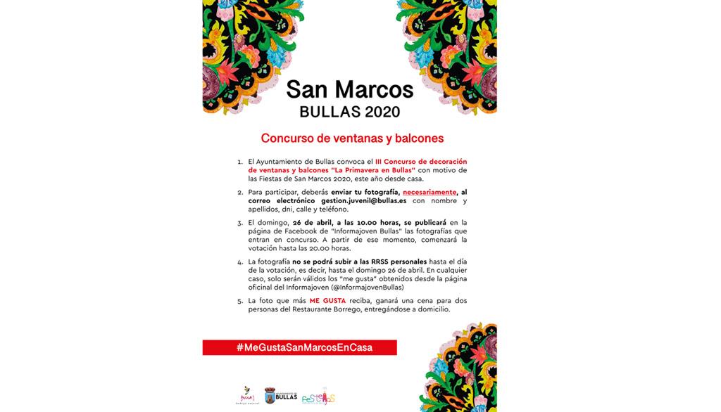III Concurso de Decoración de Ventanas y Balcones 'La primavera en Bullas'