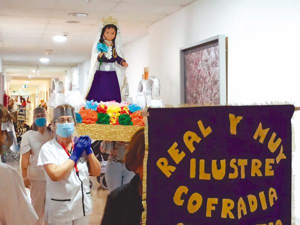 Se celebró la Semana Santa en la Residencia de Mayores Club de Campos