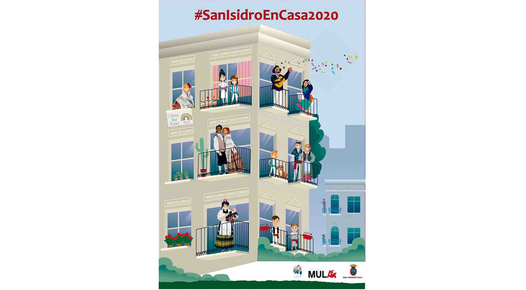 Las Fiestas en honor a San Isidro se viven desde casa