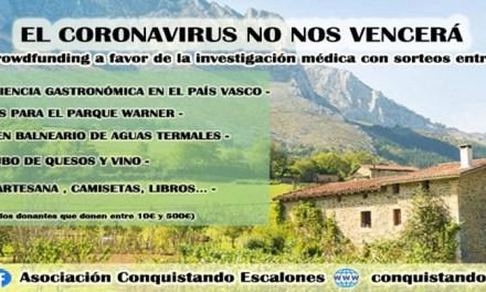 """La campaña """"El Coronavirus no nos vencerá"""" lleva recaudado alrededor de 2500 €, la mitad de su objetivo"""